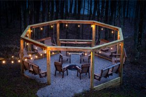 The Lodge at Harble Ridge - Fire pit