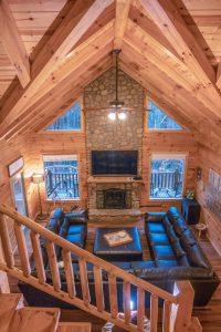 The Lodge at Harble Ridge - 1st floor living room