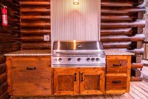 The Lodge at Harble Ridge - Propane Grill