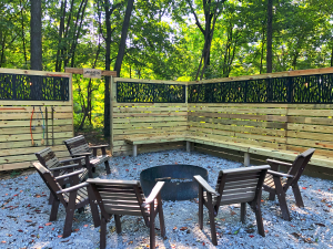 Fire Pit at The Legacy at Harble Ridge